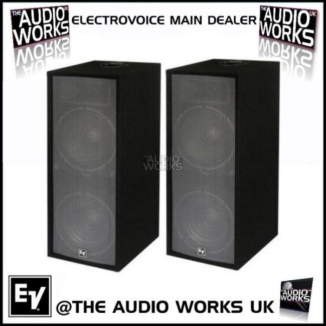Pair Electrovoice Force I25 600w Rms Professional Loudspeakers