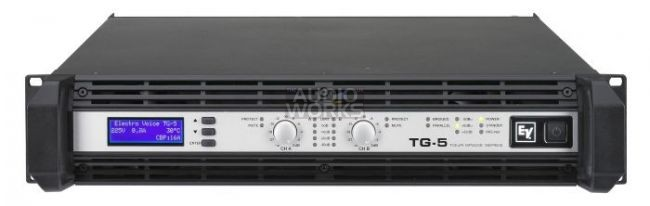 ELECTROVOICE TG5 TOUR GRADE 5000W PROFESSIONAL POWER AMPLIFIER