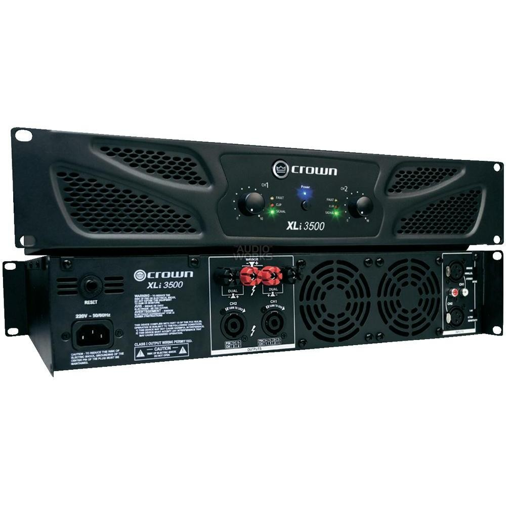 CROWN XLi3500 2700W PROFESSIONAL POWER AMPLIFIER