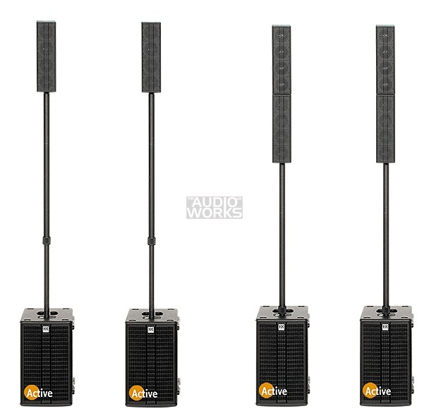 HK AUDIO ELEMENTS DJ / BAND ONE ACTIVE PA PACKAGE