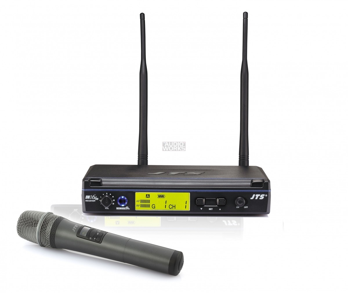 JTS IN164 PROFESSIONAL WIRELESS HANDHELD MICROPHONE SYSTEM