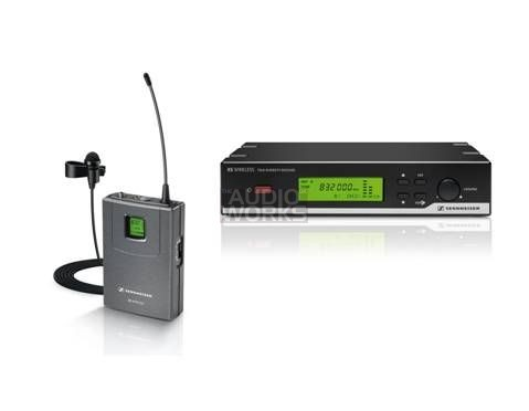 SENNHEISER XSW12 E WIRELESS LAPEL MICROPHONE SYSTEM