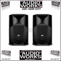 PAIR RCF ART 712 A 750W RMS PROFESSIONAL ACTIVE LOUDSPEAKERS