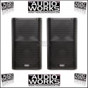 PAIR QSC K12 PROFESSIONAL 1000W ACTIVE LOUDSPEAKERS