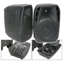 QTX DUET300 COMPACT 300W PA SYSTEM WITH BLUETOOTH