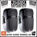 PAIR JBL EON 315 300W RMS PROFESSIONAL ACTIVE LOUDSPEAKERS