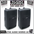 PAIR PROEL FLASH 12A 250W RMS PROFESSIONAL ACTIVE SPEAKERS
