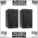 PAIR OF QSC K8 1000W ACTIVE SPEAKERS B STOCK ! AS NEW