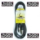 LIVEWIRE XLR MALE TO XLR FEMALE 6M