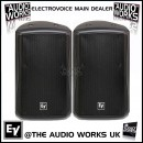 PAIR ELECTROVOICE ZX5 600W RMS PROFESSIONAL LOUDSPEAKERS