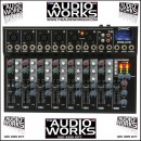 CITRONIC CM8-LIVE 8CH MIXER WITH EFFECTS USB & SD PLAYER