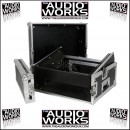 "CITRONIC COMBO CASE 2U WITH 8U 19"" TOP MIXER MOUNT"
