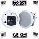 PAIR JBL CONTROL 24CT MICRO / 24CT MICRO PLUS 30W CEILING SPEAKERS