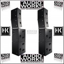 HK AUDIO CTA 208 / CTA 118 CONTOUR ARRAY 8000W ACTIVE PA SYSTEM