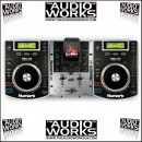 NUMARK iCD DJ IN A BOX COMPLETE CD AND IPOD DJ SYSTEM