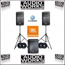 JBL PRX612M PRX618S 2600W PROFESSIONAL ACTIVE PA PACKAGE