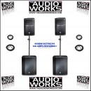 JBL PRX612M PRX618S 3200W PROFESSIONAL ACTIVE PA PACKAGE