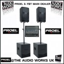 PROEL FLASH 1200W ACTIVE PA SYSTEM WITH 16CH MIXER