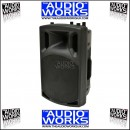 QTX QX15AV 250W ACTIVE LOUDSPEAKER WITH BUILT IN MICROPHONES