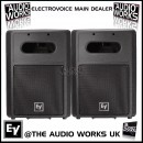 PAIR ELECTROVOICE SB2A 700W RMS PROFESSIONAL SUBWOOFERS