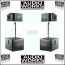 JBL VRX932LAP / VRX918SP 3250W ACTIVE LINE ARRAY PA SYSTEM