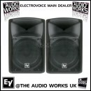 PAIR ELECTROVOICE ZX4 400W RMS PROFESSIONAL LOUDSPEAKERS