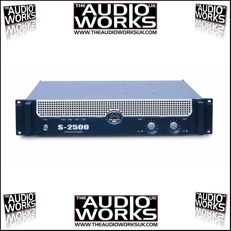 Wharfedale Pro S2500 2200w Professional Power Amplifier Audio Works Circuit Buy Stereo Amplifieraudio