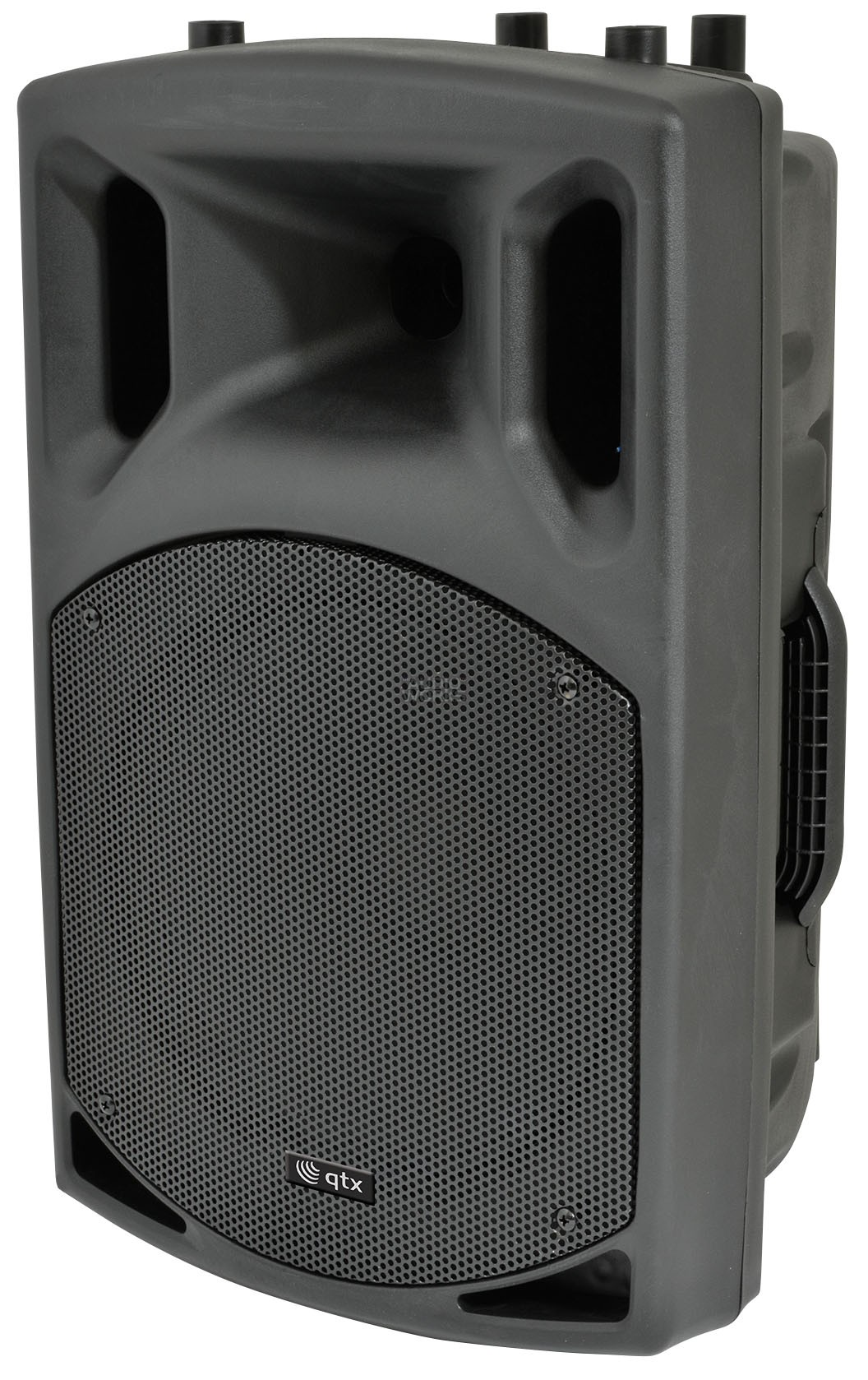 QTX QX12PA RECHARGEABLE PA SYSTEM WITH TWIN WIRELESS MICS BLUETOOTH
