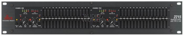 DBX 2215 DUAL 15 BAND GRAPHIC EQUALISER LIMITER