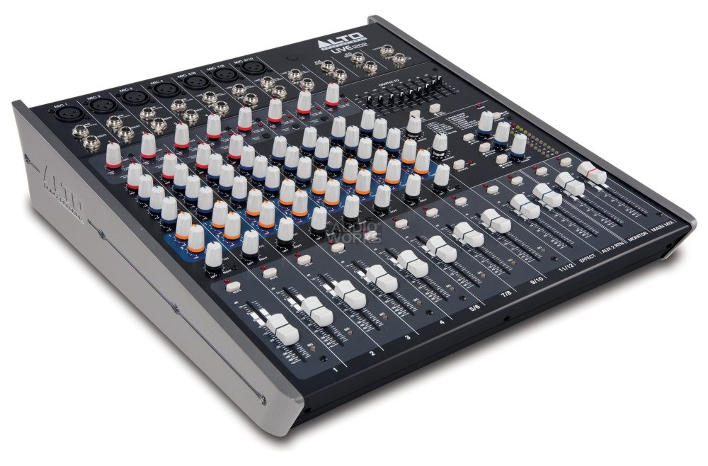 ALTO LIVE 1202 12CH 2 BUS MIXER WITH EFFECTS