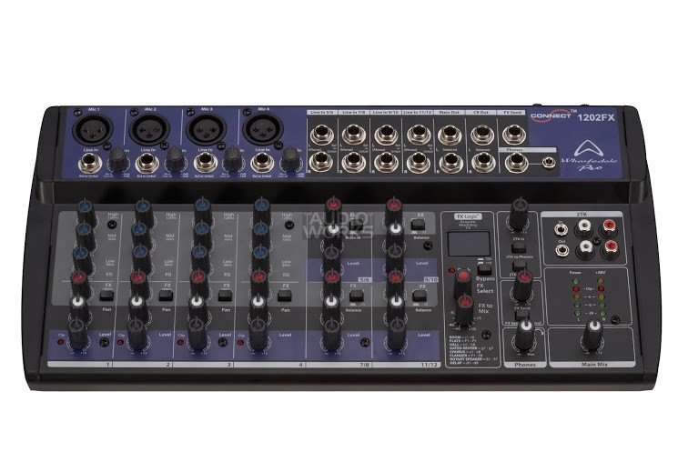 WHARFEDALE PRO CONNECT 1202FX 12CH MIXER WITH EFFECTS & USB