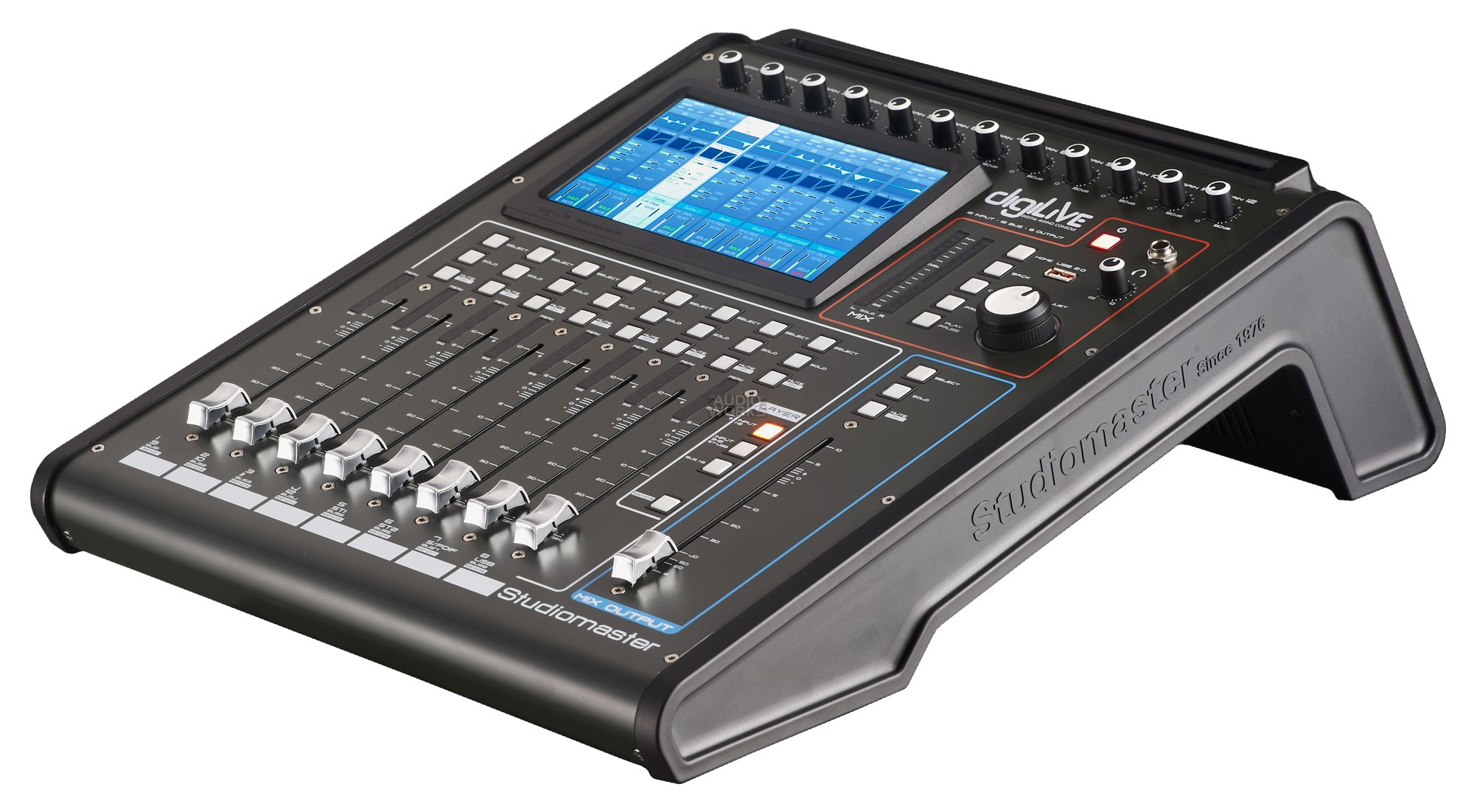 STUDIOMASTER DIGILIVE 16 CHANNEL DIGITAL MIXING CONSOLE