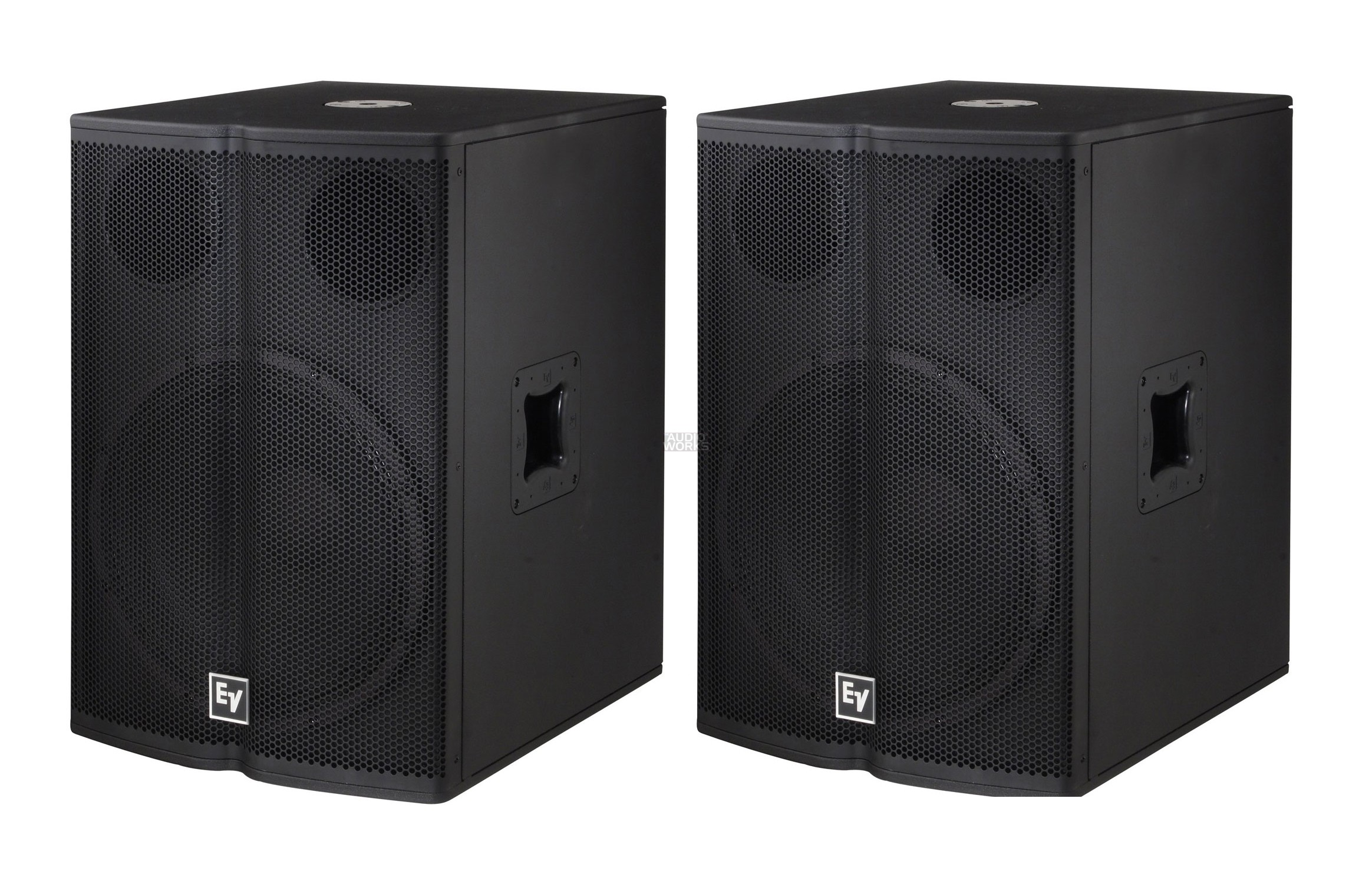 PAIR ELECTROVOICE TX1181 500W RMS PROFESSIONAL SUBWOOFERS