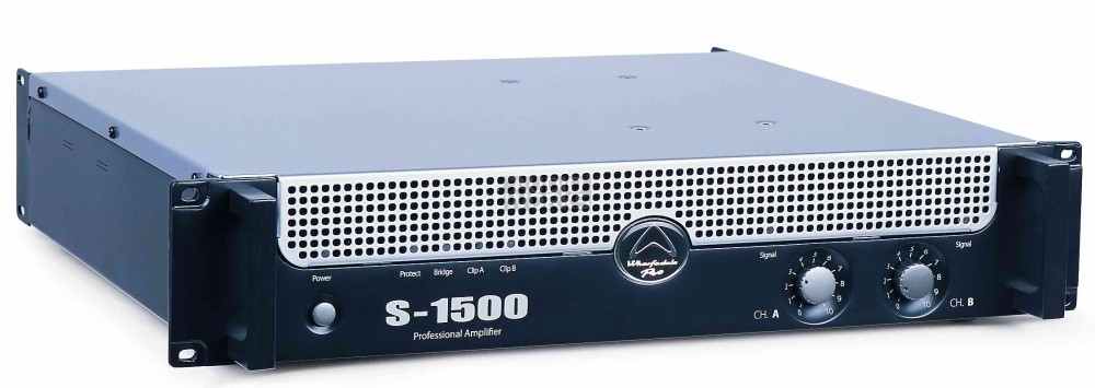 WHARFEDALE PRO S1500 1300W PROFESSIONAL POWER AMPLIFIER