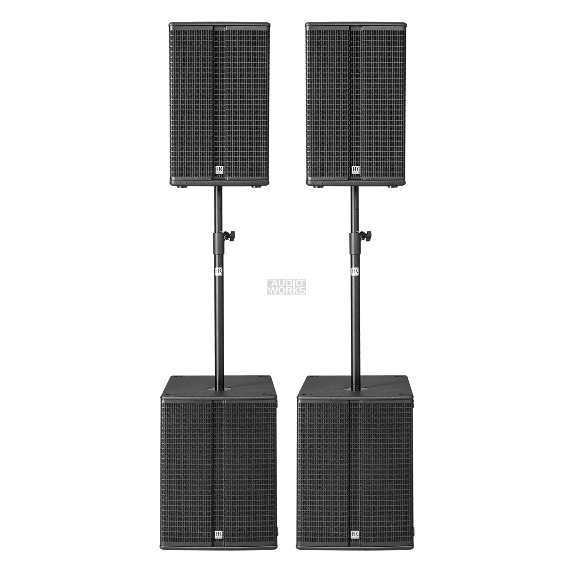 Hk Audio Linear L3 Bass Power Pack 4800w Active Pa System