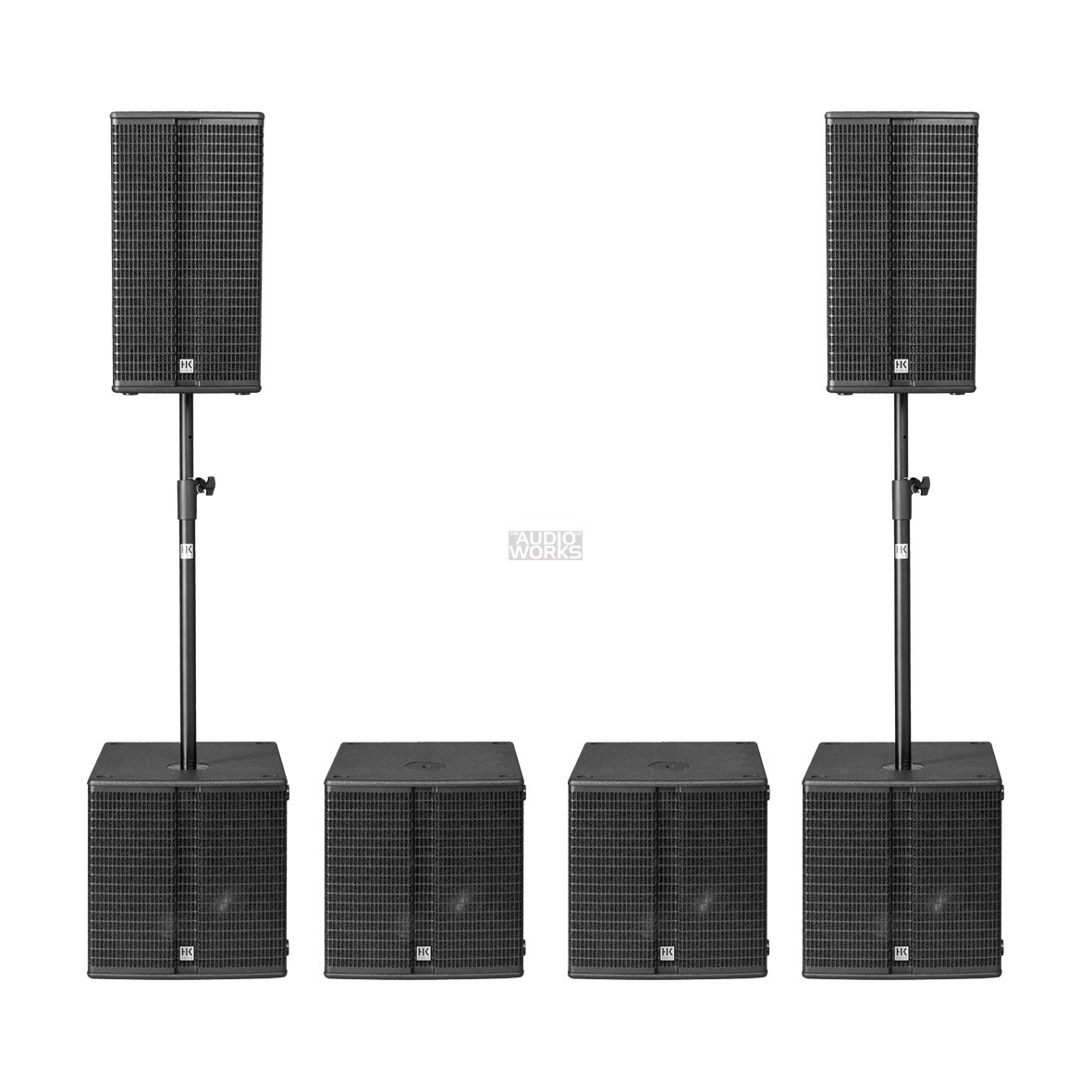 Hk Audio Linear L3 High Performance Pack 7200w Active Pa System