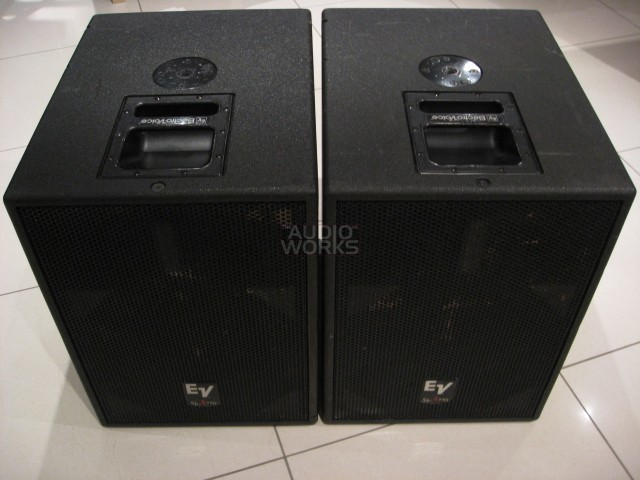 PAIR ELECTROVOICE SBA 750 ACTIVE 750W RMS SUBWOOFERS (USED)