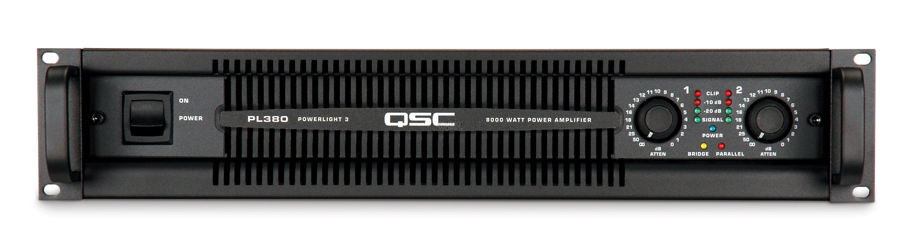QSC POWERLIGHT 3 PL380 8000W PROFESSIONAL POWER AMPLIFIER