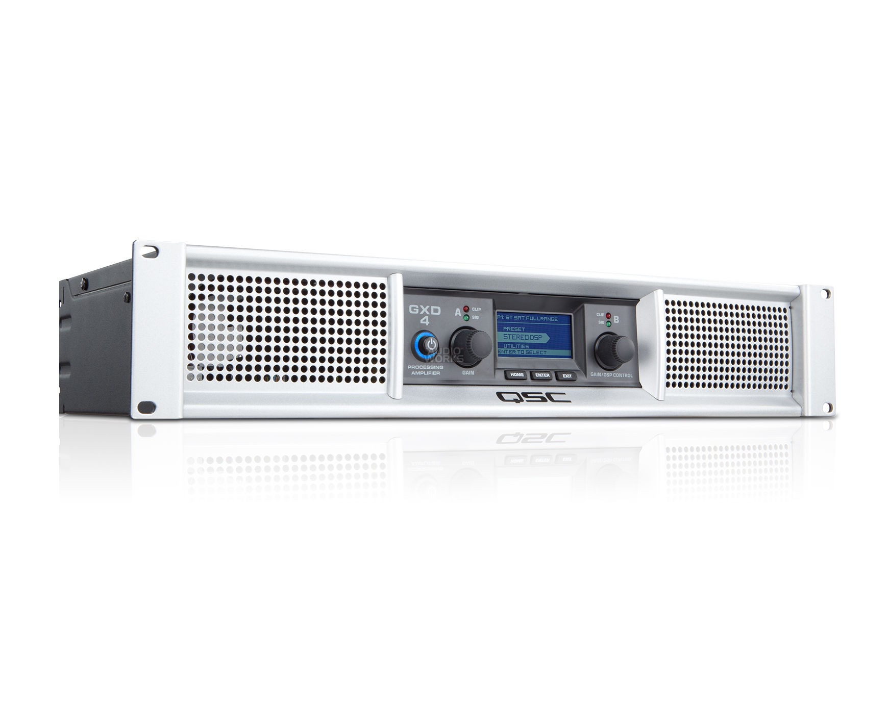 QSC GXD4 1600W PROFFESIONAL POWER AMPLIFIER WITH DSP