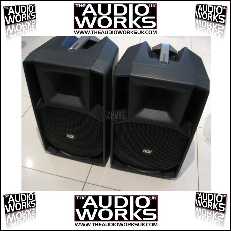 PAIR RCF ART- 722A 750W RMS PROFESSIONAL ACTIVE LOUDSPEAKERS - EX