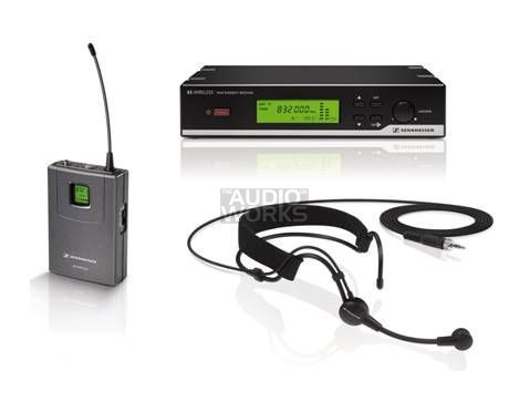 SENNHEISER XSW52 WIRELESS HEADWORN MICROPHONE SYSTEM