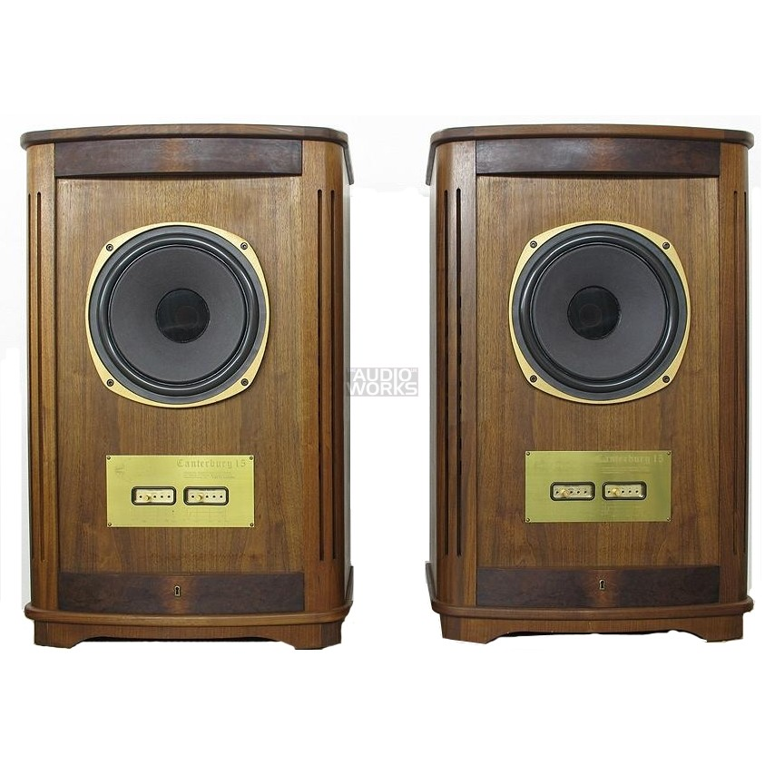 PAIR TANNOY PRESTIGE CANTERBURY 15 VINTAGE COLLECTORS SPEAKERS