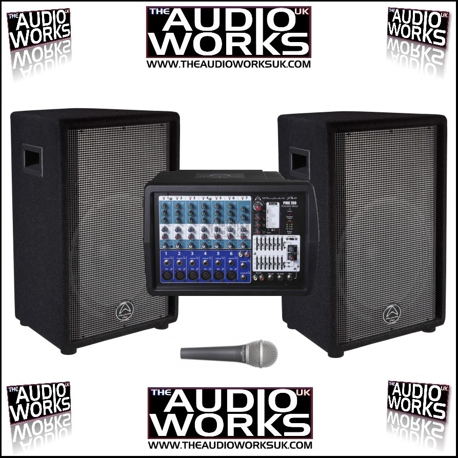 WHARFEDALE PRO PMX 700 POWERED PA SYSTEM