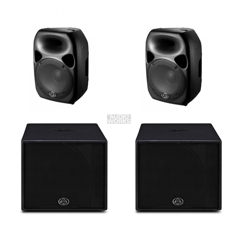 WHARFEDALE PRO TITAN 12D / SUB-A15 1400W ACTIVE PA SYSTEM