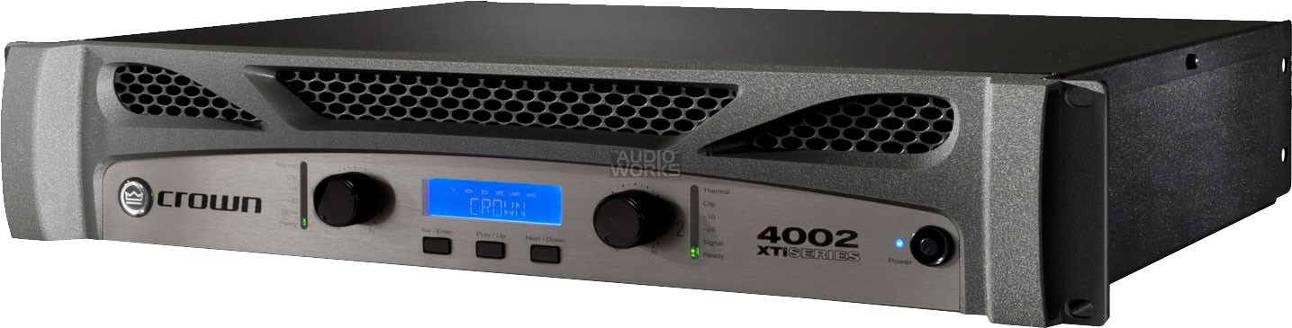 CROWN XTI-4002 3200W XTI 2 SERIES POWER AMPLIFIER