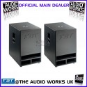 PAIR FBT MaxX10SA 900W RMS PROFESSIONAL ACTIVE SUBWOOFERS