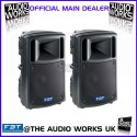 PAIR FBT MaxX6A 700W RMS PROFESSIONAL ACTIVE LOUDSPEAKERS
