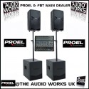 PROEL FLASH v2 1200W ACTIVE PA SYSTEM WITH 16CH MIXER
