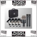 ELECTROVOICE PL DK7 7 PIECE DRUM MICROPHONE KIT WITH CASE