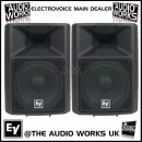 PAIR ELECTROVOICE SX300 300W RMS PROFESSIONAL LOUDSPEAKERS